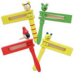 Деревянная игрушка ЛС Трещотка