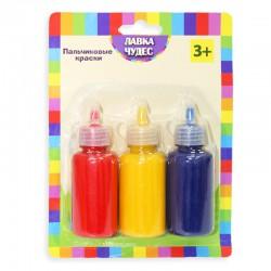 Пальчиковые краски 3 цвета (60 мл/баллончик)