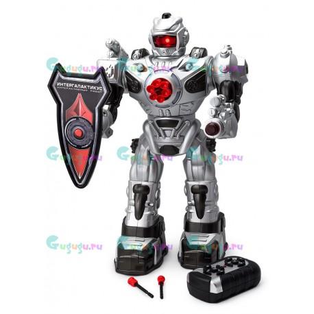 Интерактивный робот Электрон Интерглактикус с пультом д/у. Понимает голосовые команды, стреляет стрелами