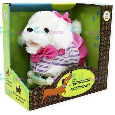 Детская игрушка интерактивная собака робот Лина