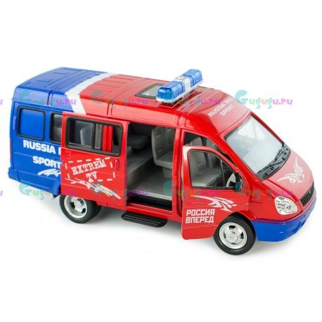 Машина Автоспорт (23 см, свет и звук, открывающиеся двери), Детская игрушка