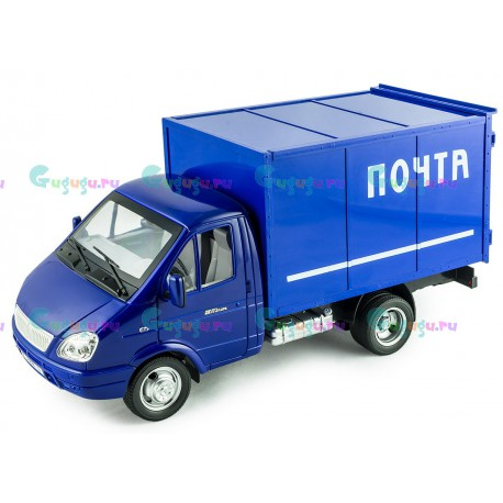 Детская игрушка интерактивная машина фургон Почта с открывающимся кузовом