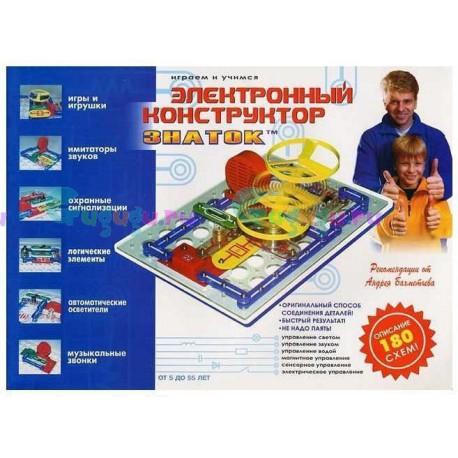 Детский интерактивный конструктор ЗНАТОК: 180 схем, научит основам схемотехники. Купить конструктор с доставкой по России