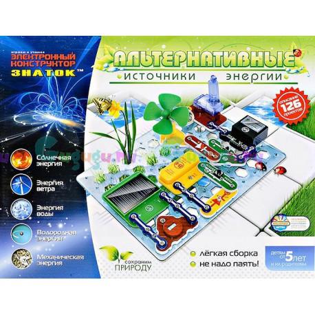 Интерактивный конструктор ЗНАТОК: Альтернативные источники энергии (126 схем). Купить с доставкой по России