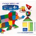 Мозаика магнитная MAGNETICUS: Цирк (300 элементов, 10 цветов)