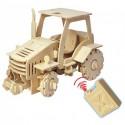 Конструктор GOOD HAND Трактор с мотором (88 деталей) на радиоуправлении
