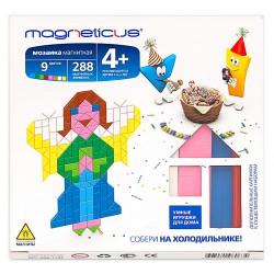 Мозаика магнитная MAGNETICUS: Ангелы (288 элемента, 9 цветов)