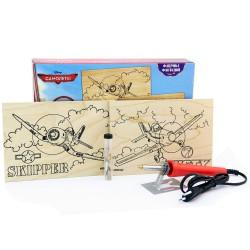 Набор для выжигания с прибором Disney - Самолеты: Шкипер и Дасти
