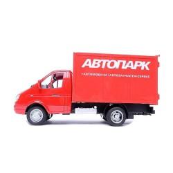 Детская игрушка машина-фургон Автопарк