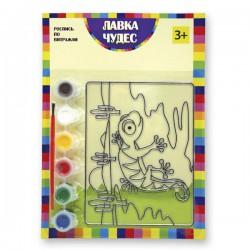 Набор для росписи витража: Ящерица