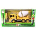 Машина грузовик-бетономешалка на радиоуправлении (свет и звук)