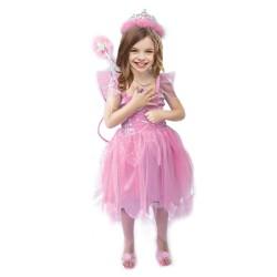 """Карнавальный костюм """"Розовая фея"""" для детских праздников 4 - 6 лет (104-106 см)"""