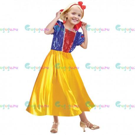 Детский карнавальный костюм для девочек Принцесса гномов для праздников (7-9 лет). Доставка по всей России