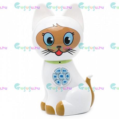Кошка Соня интерактивная говорит и отвечает на голосовые команды, знает 11 сказок и 3 колыбельные. Доставка по всей России