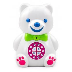 Мишка Тимофей интерактивный (цвет белый, знает 241 сказку / 60 часов на русском, разговаривает, поет, обучает английскому)