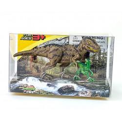 Набор фигурок животных - Динозавры: Охота Тиранозавра