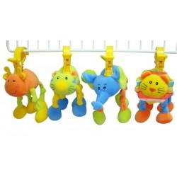 Развивающая игрушка-подвеска Забавный зверь