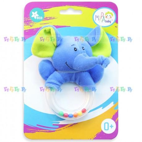 Развивающая игрушка-погремушка Джунгли