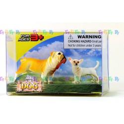 Набор фигурок Собаки: Английский бульдог и его друг