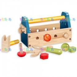 Деревянная игрушка- конструктор Ящик с инструментами