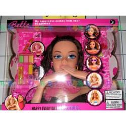 Детская игрушка, Набор стилиста Бэйль - красавица брюнетка