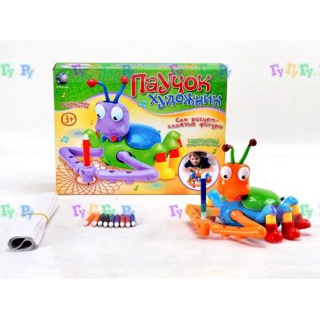 Детская игрушка, Паучок Художник (рисует фигуры)