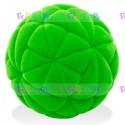 Мяч из натурального каучука с флокированным покрытием Калейдоскоп, 10 см