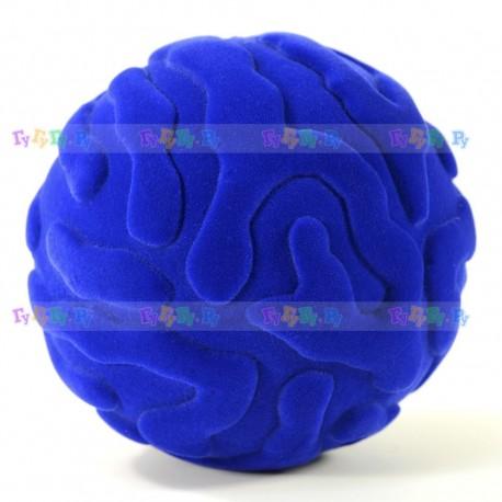 Мяч из натурального каучука с флокированным покрытием Медуза, 10 см