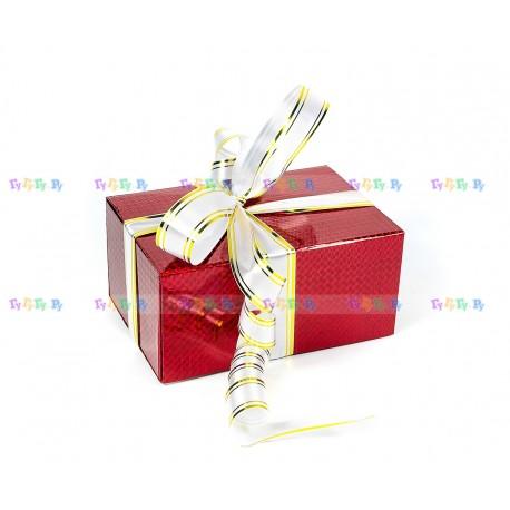Подарочная коробка-трансформер: Красная голограмма (19х9х13 см)