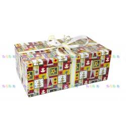 Подарочная коробка-трансформер: Новогодняя (47x27x18 см)