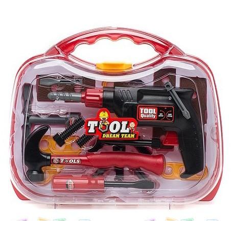 Детский набор инструментов в чемоданчике