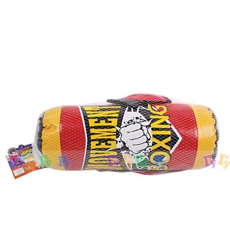 Набор для бокса: груша, перчатки (47 см)