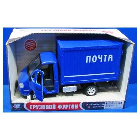 Детская игрушка, Машина-фургон Почта (24 см, свет и звук)