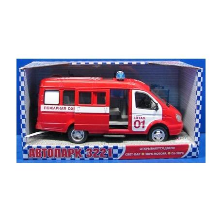 Машина Пожарная охрана (23 см, свет и звук)