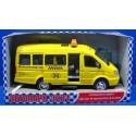 Детская игрушка, Машина: Автопарк Маршрутное такси (23см, свет, звук)