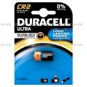 Батарейка Duracell CR2 Ultra M3 (1500 мА/ч, 3В, литий (Lithium)). 1 шт. в упаковке.