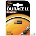 Батарейка Duracell MN21 ((3LR50), 55 мАч, 12В, щелочь (alkaline)). 1 шт. в упаковке.