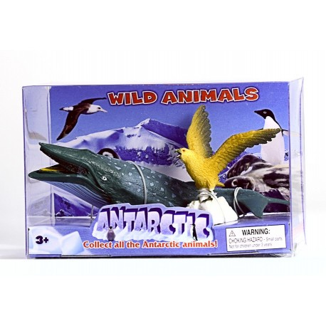 """Набор фигурок """"Антарктические животные: Кит и Орел"""""""