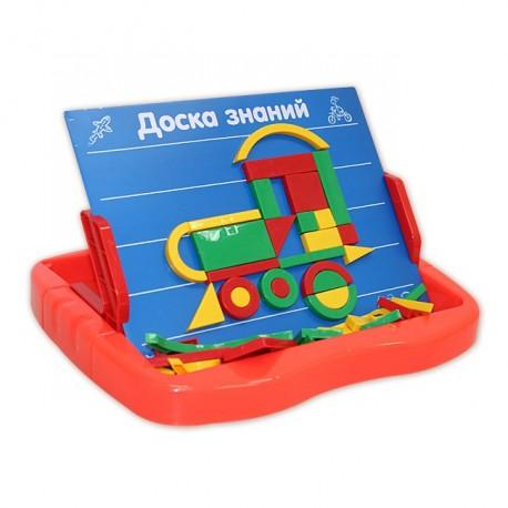 Детская обучающая игра, Азбука магнитная (99 элементов)