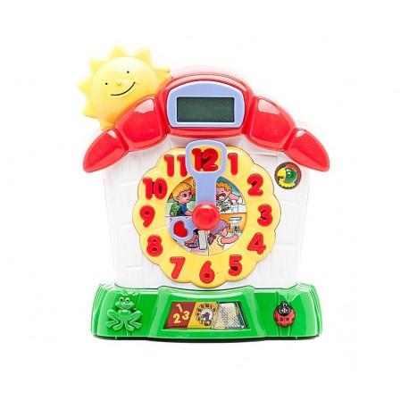 Детская игрушка развивающая Часики знаний