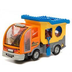 Детская электронная машина Городской помощник - строительная с кубиками