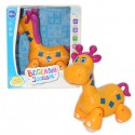Весёлый зоопарк - Оранжевый жирафа (22x12x24 см, музыка, свет)