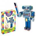 Развивающий набор: Собери и раскрась робота Вертуса
