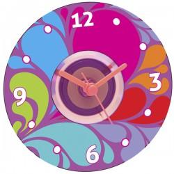 Набор для создания настоящих часов: Цветные узоры