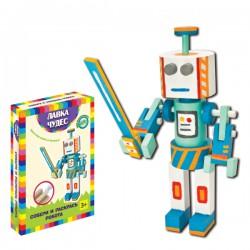 Развивающий набор: Собери и раскрась робота Северуса (17х9х5 см)