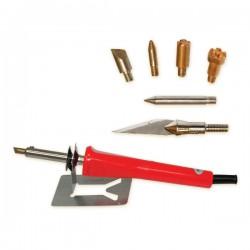 Прибор для выжигания с 6 разными насадками